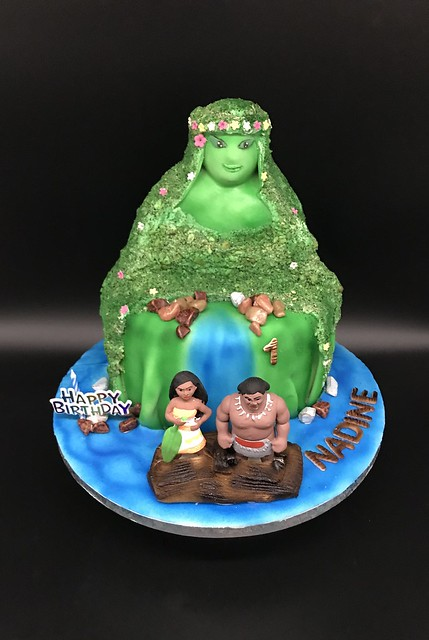 Te Fiti Island Cake from Angel Agie Recella of Breadology-Confections by Angel