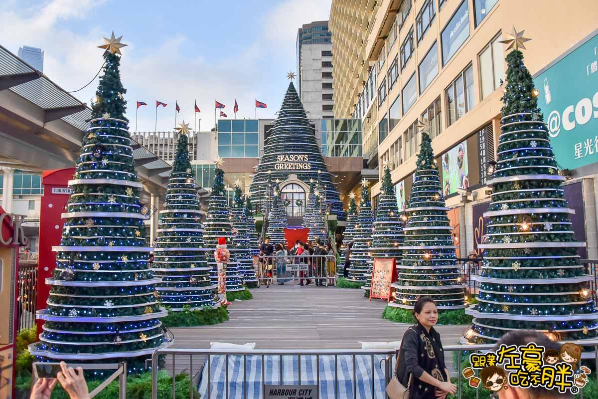香港聖誕節 尖沙咀海港城聖誕裝飾-13