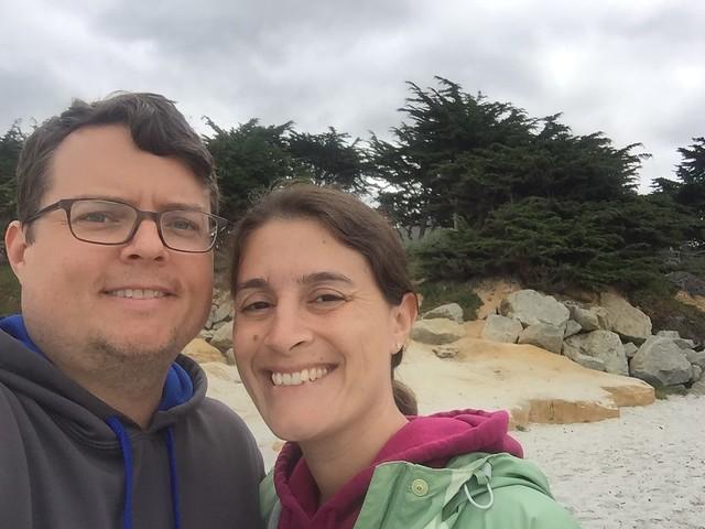 Maria & Neil at Carmel Beach City Park, Carmel, CA