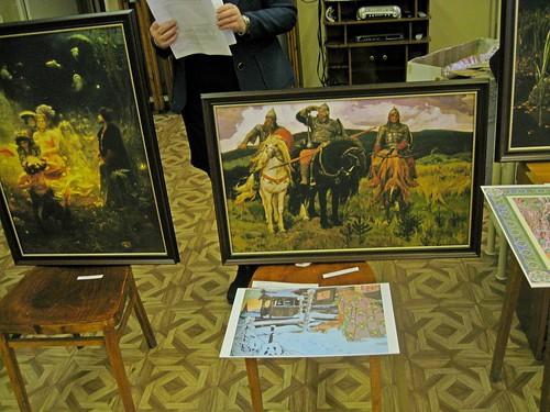 Былины и сказки в картинах русских художников