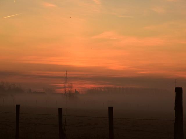 X-mas morning over Boeksheide, Nikon D3300, Tamron AF 16-300mm f/3.5-6.3 Di II VC PZD (B016)