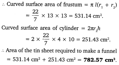 NCERT Solutions for Class 10 Maths Chapter 13 Surface Areas and Volumes 56