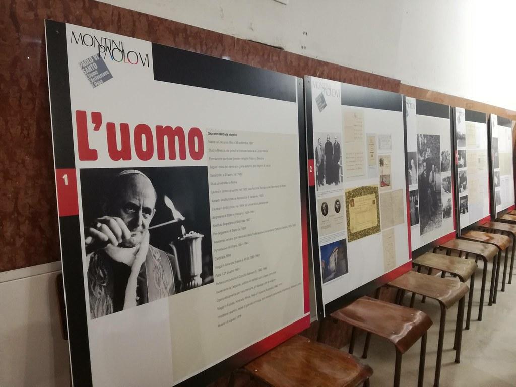 Mostra su San Paolo VI° in San Giuliano Martire