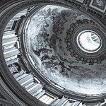 Dome Interior - St. Peter's Basilica - Vatican City - Rome - https://www.flickr.com/people/41524845@N07/