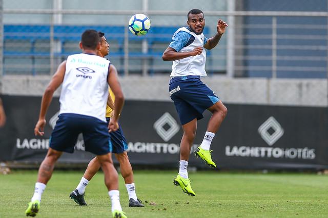 Treino Grêmio 28/11/18
