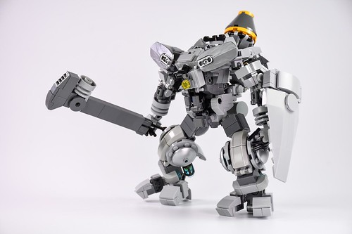 戰鬥裝甲-強襲用近戰劍盾配備仕様