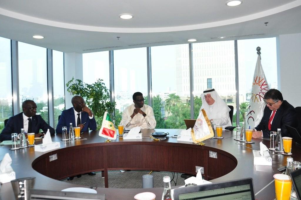 Le Ministre de l'Economie et des Finances du Sénégal, Amadou Ba reçu à Jeddah par le Président de la BID, Bandar Al Hajjar4
