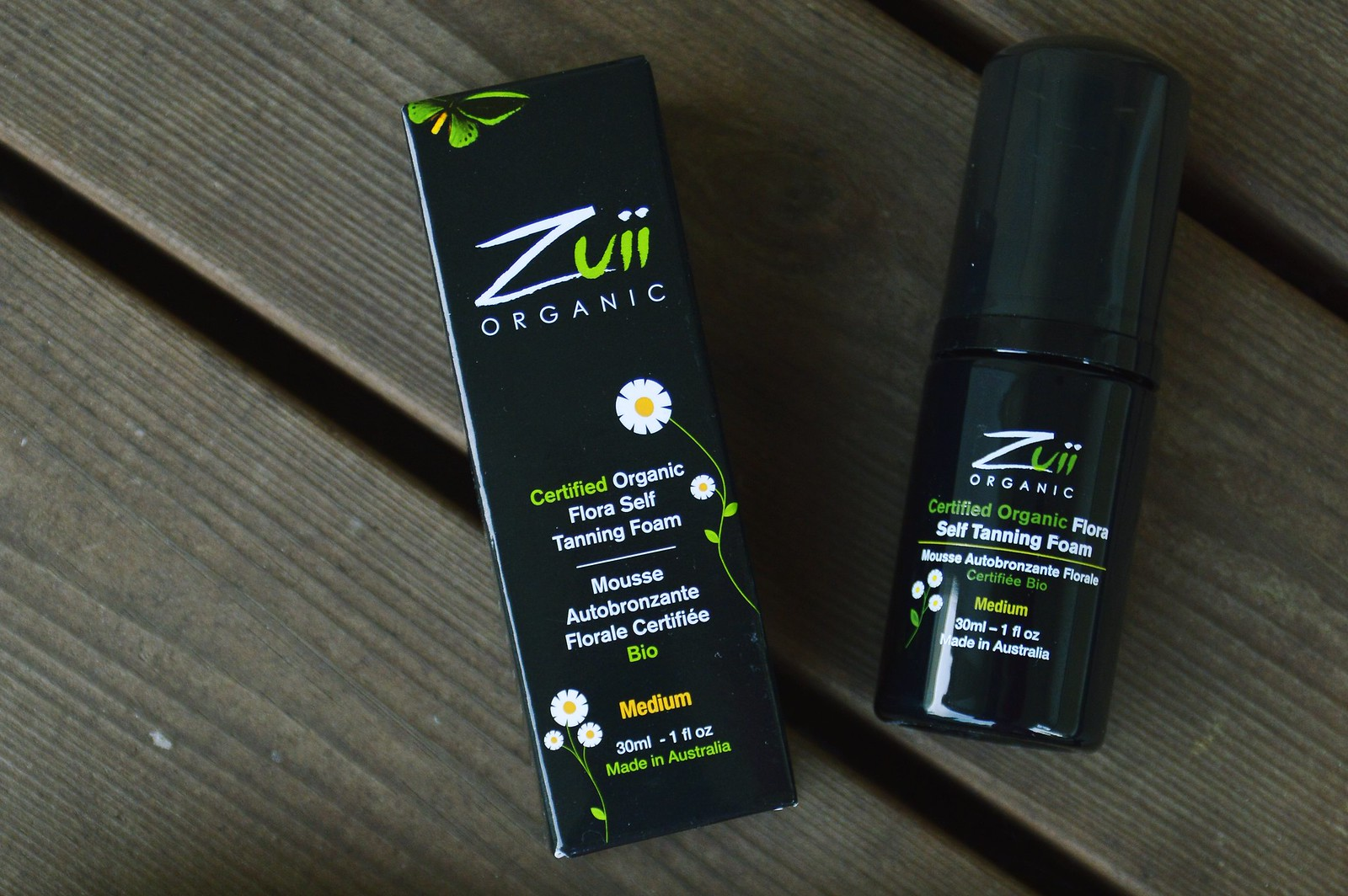 ZUII ORGANIC TAN & TREAT ITSERUSKETTAVAT 4