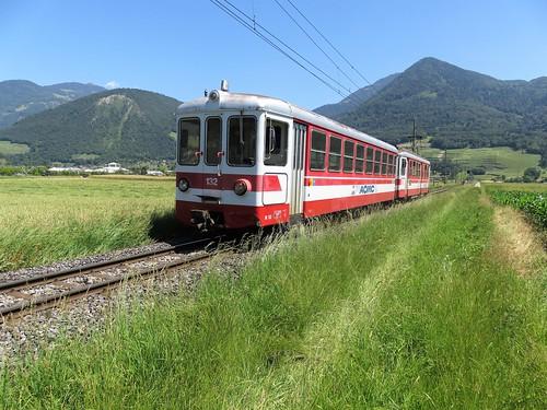 Trains de l'Aigle Ollon Monthey Champéry (Suisse)