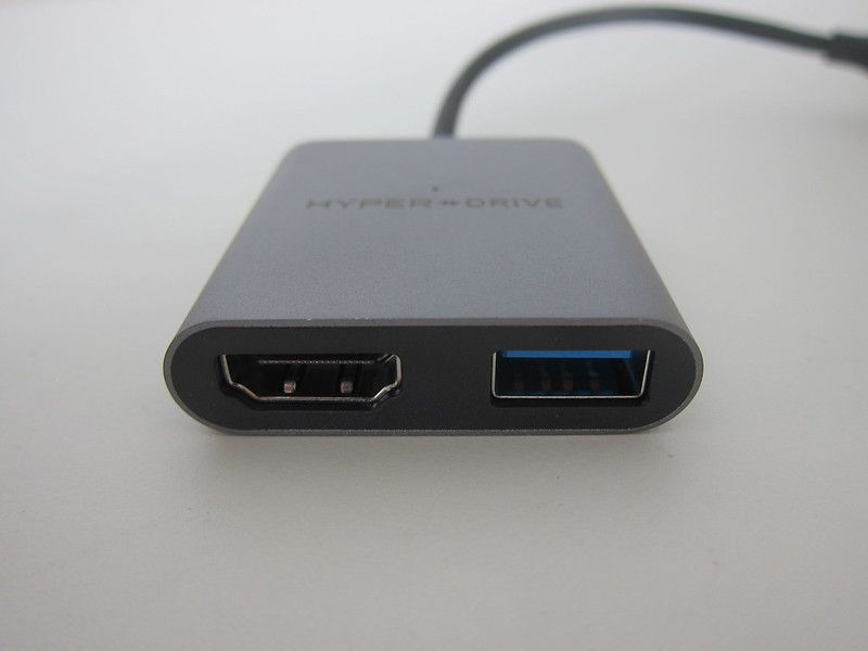 HyperDrive 4K HDMI 3-in-1 USB-C Hub - Front
