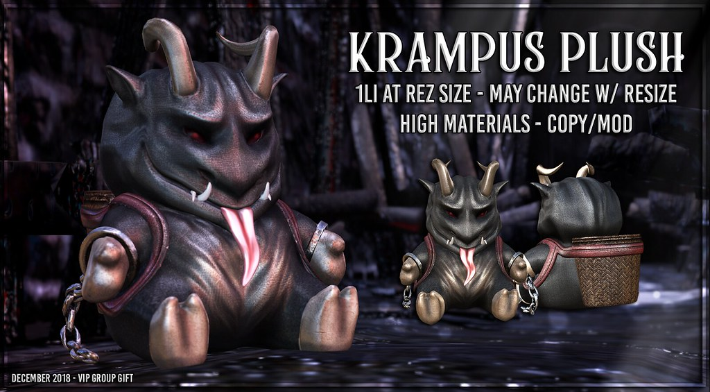 AsteroidBox. Kramps Plush – December 2018 Group Gift
