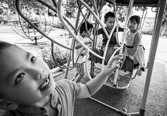 preschoolers at recess, Cam Thanh Village