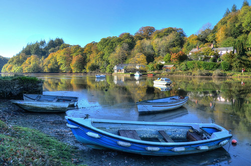 The river at Lerryn, Cornwall (Explored)
