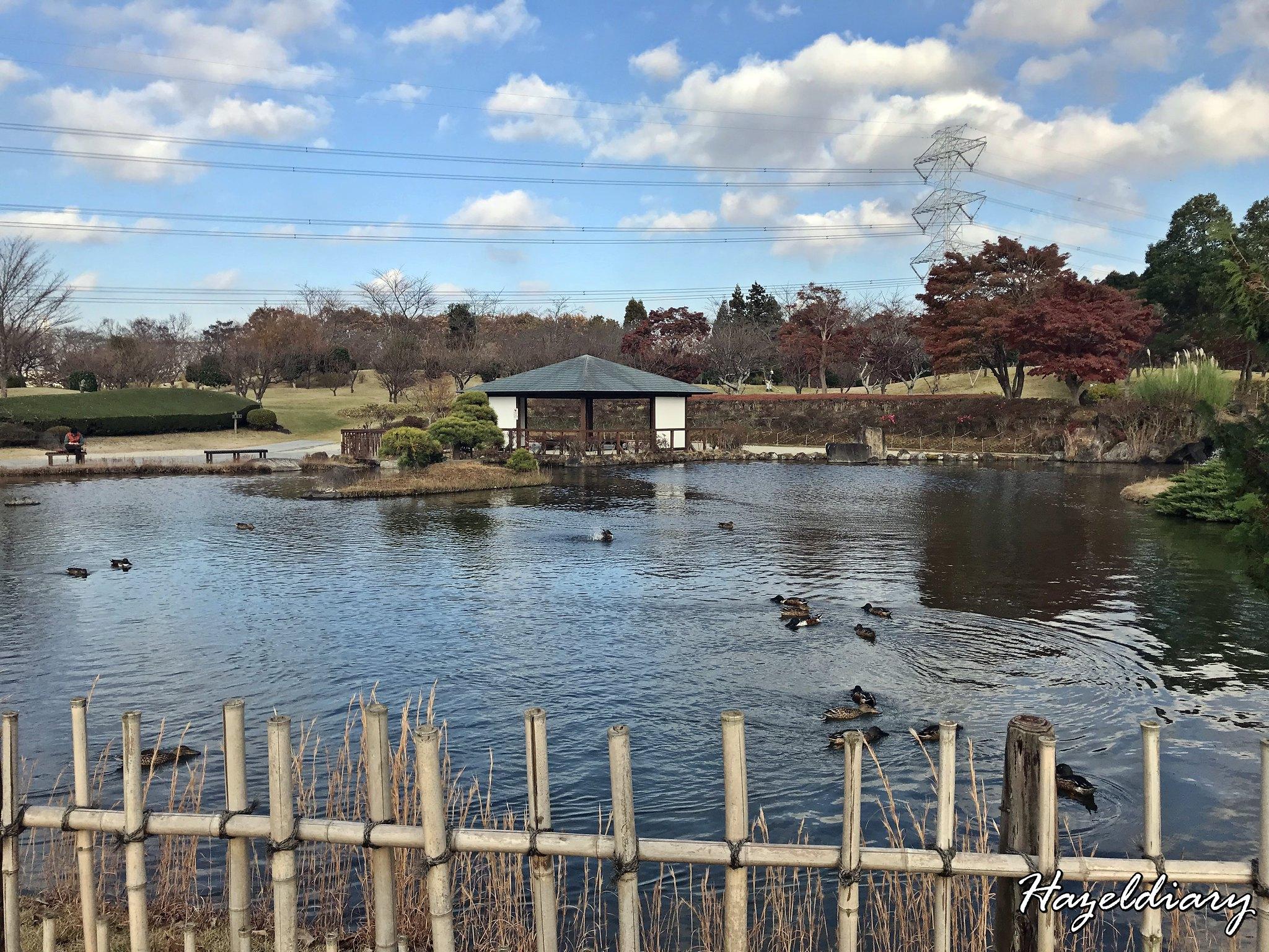 Ushiku Daibutsu Japan-Lake