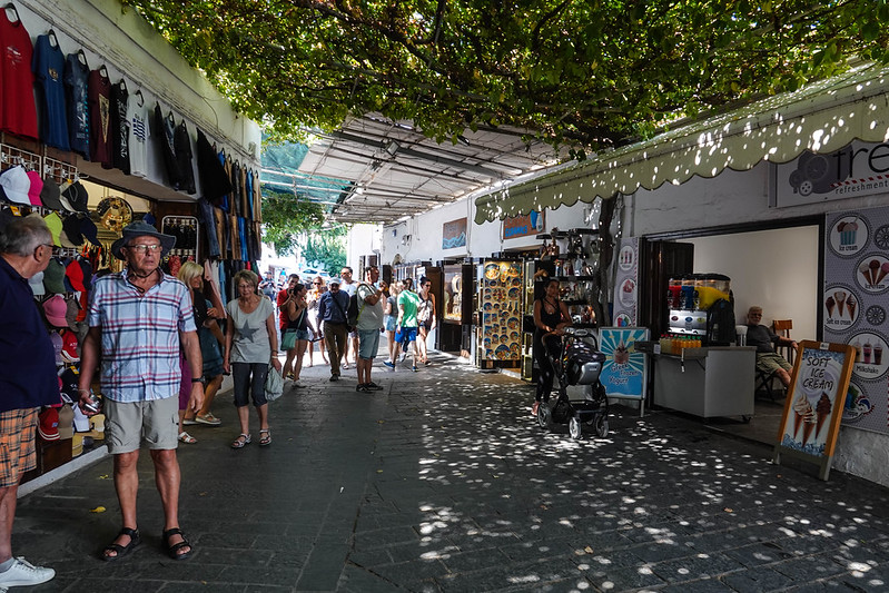 Lindos streets
