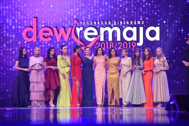 Haneesya Hanee Juara Dewi Remaja 2018/2019