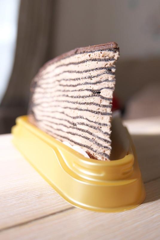 セブンイレブン パリパリとしたチョコミルクレープ
