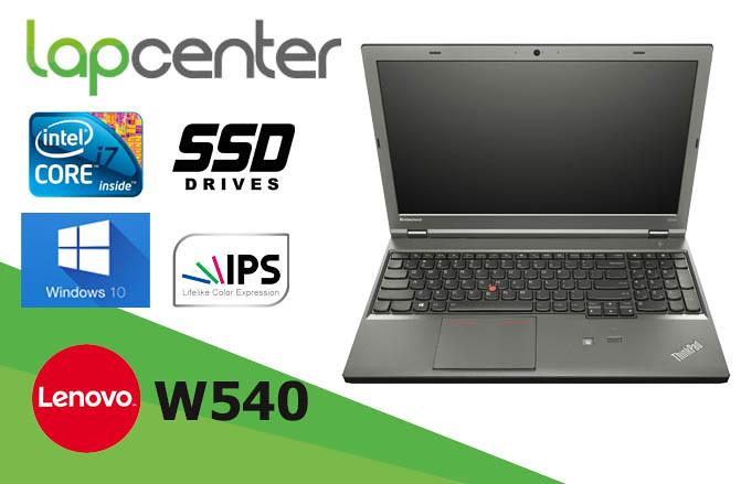 LENOVO THINKPAD W540 I7 4 GB RAM 500 GB HDD WIN10PRO