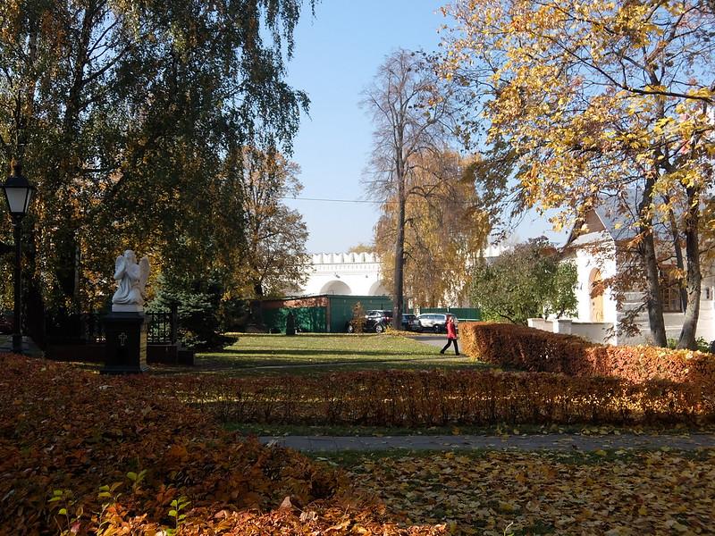 Москва - Новодевичий монастырь - Вход