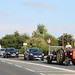 David Brown tractor causing queues.