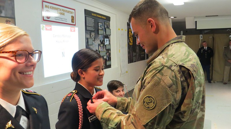Class of 2019 EWU ROTC Cadets Receive Their Army Branching Assignments
