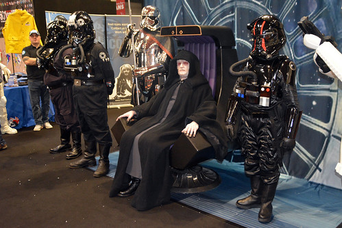 UK Garrison at Birmingham Comic-con 2018