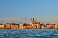Venice from Boat
