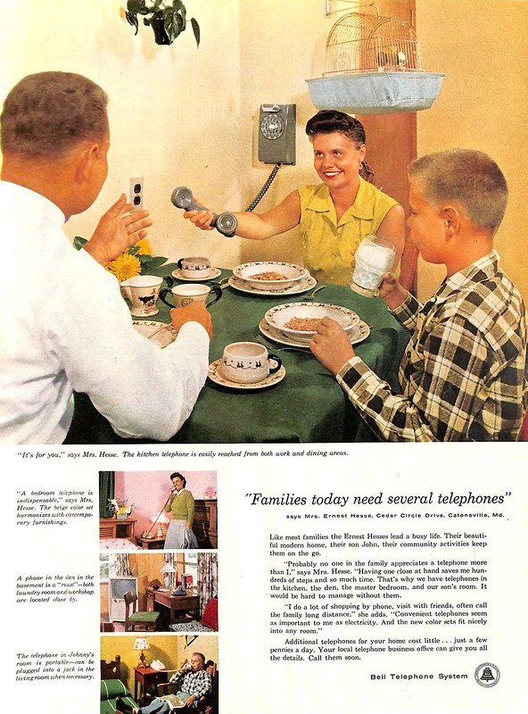 Bell Telephone System 1956