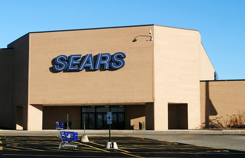 Surviving Sears, Springhill Mall, West Dundee Illinois