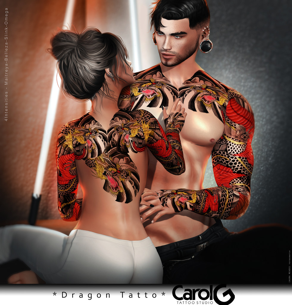 Dragon – Unisex Tattoo [CAROL G]