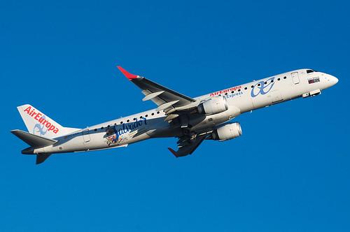 [EC-LKX] Air Europa - Embraer ERJ-195LR