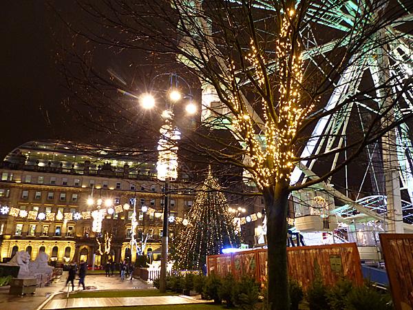 marché de Noël de Glasgow
