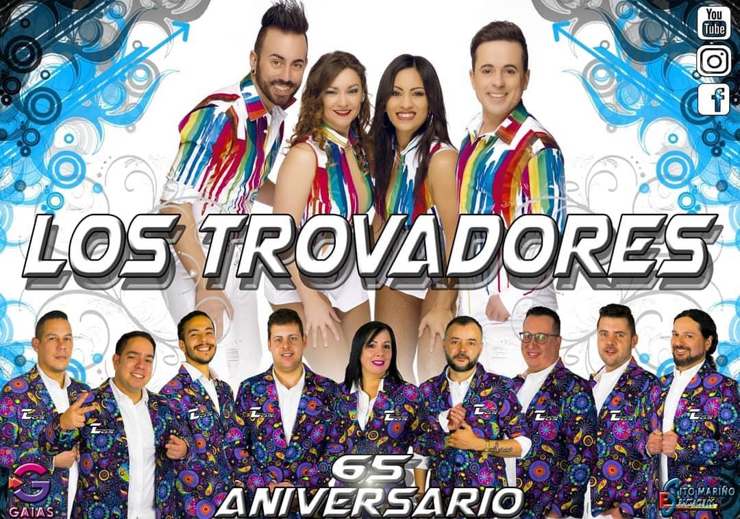 Afiche Los Trovadores 2019.