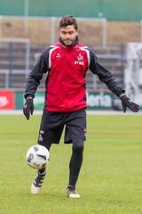 Jonas Hector bei Ballannahme