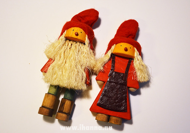 Wooden figurines from the 70s (photo copyright Hanna Andersson, Studio iHanna)