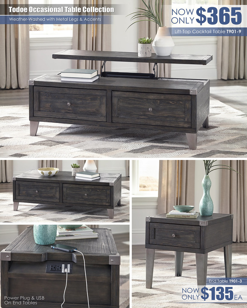 Todoe Occasional Table Collection T901_update