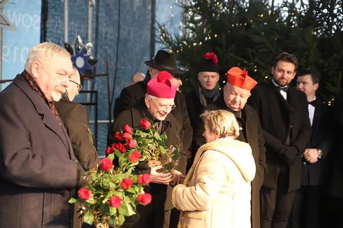 Opłatek Arcybiskupa z krakowianami | Abp Marek Jędraszewski, 23.12.2011