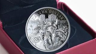 2019 Canada D-Day ilver dollar