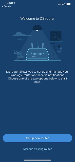 DS Router - Setup #1