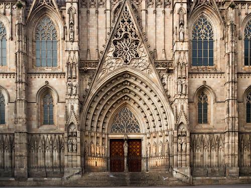 Cathédrale de Barcelone au 25 1-8