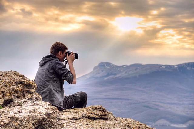 Săn ảnh đẹp trên núi cao