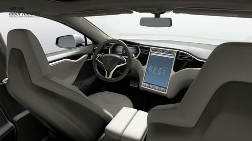 Tesla Motors Model S Signature Performance '12 (Gr.X)