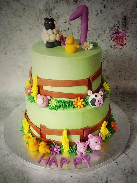 Cake by Amrita Malhotra of Amrita's Cakery