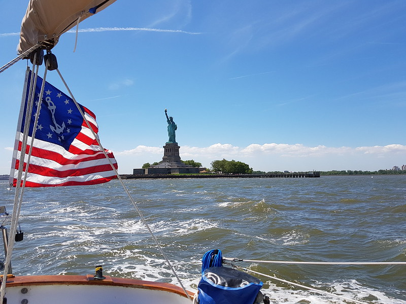 Irene and Statue of Liberty