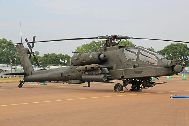 Q-29 Boeing AH-64D Apache Royal Netherlands Air Force RIAT RAF Fairford 13th July 2018