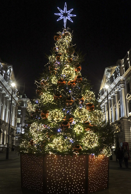 Christmas decoration, London 2018