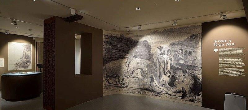 Exposition Ile de Pâques. l'ombre des dieux au musée Fenaille