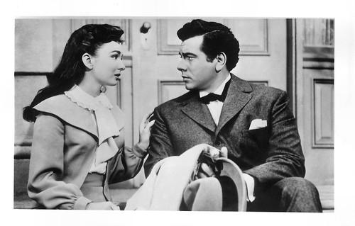 Mario Lanza and Ann Blyth in The Great Caruso (1951)