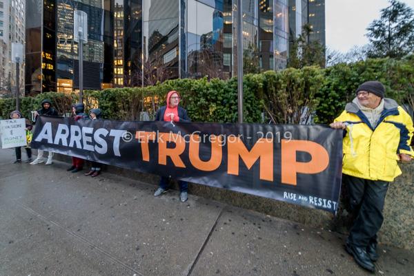 NYC Activists Demand the Arrest of Trump