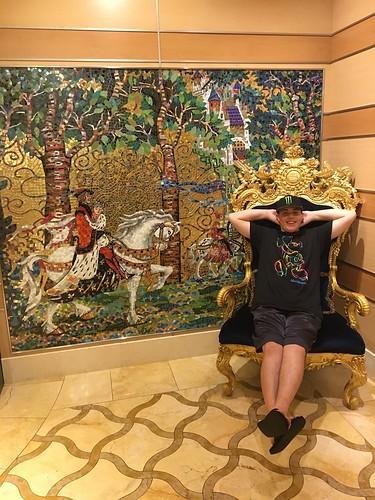 Golden Chair - Disney Cruise - Daniel Hoodikoff
